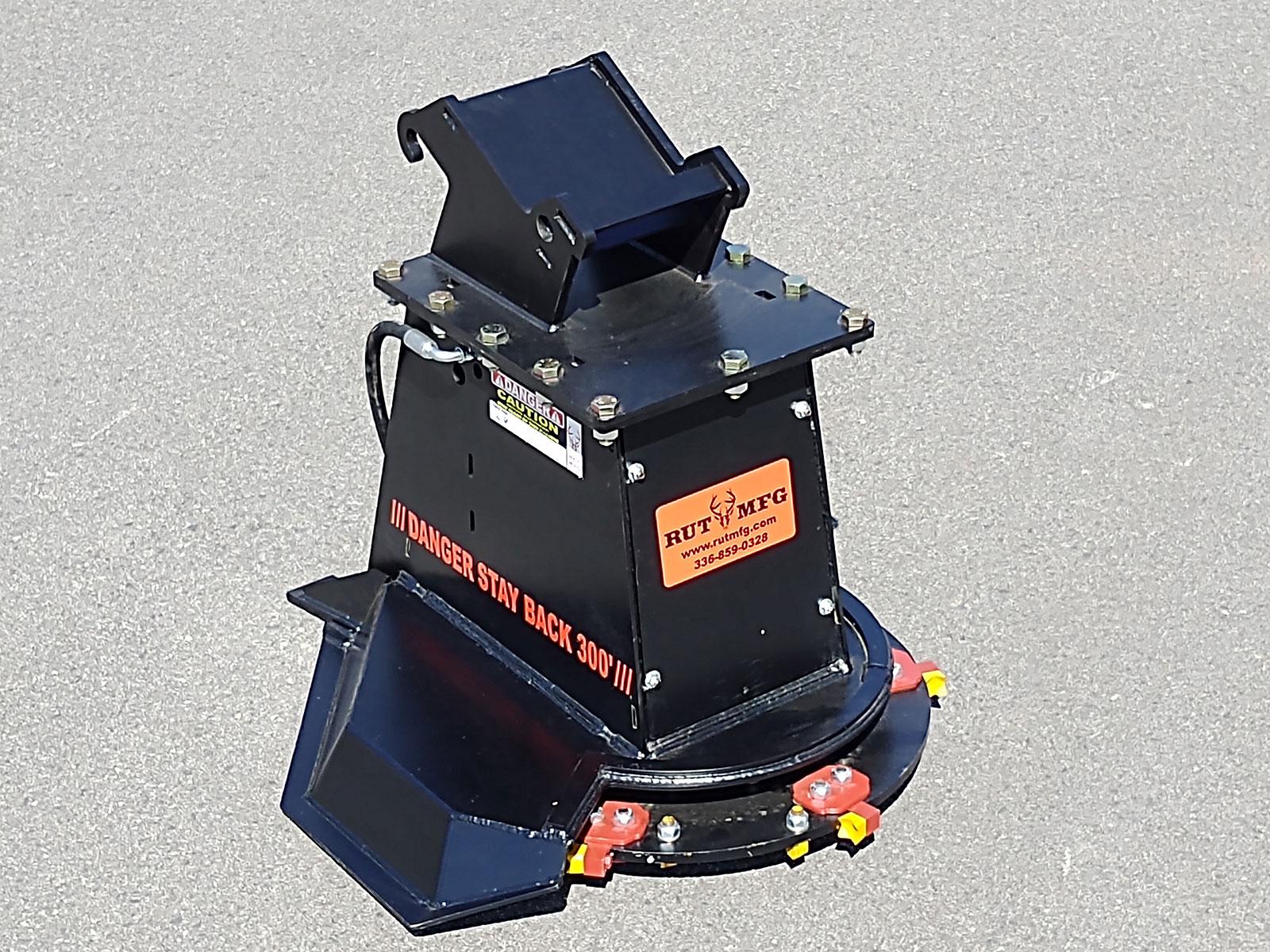 Mini Excavator Disc Mulcher | Rut Manufacturing