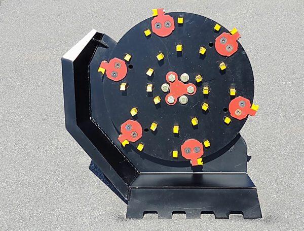 Mini Excavator Disc Mulcher 5