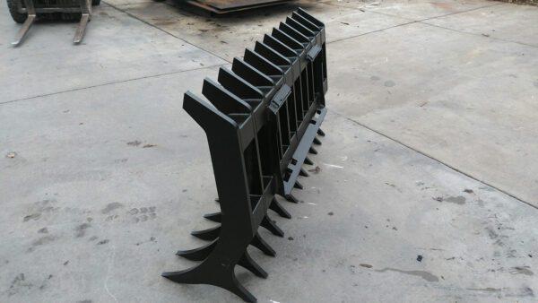 Skid Steer Root Rake 2